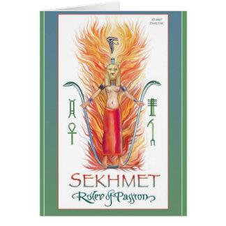 Passionate Sekhmet Card
