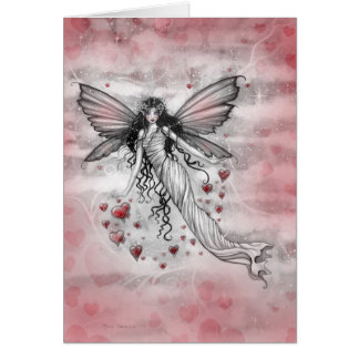 Passionate Sky Fairy Valentine Card