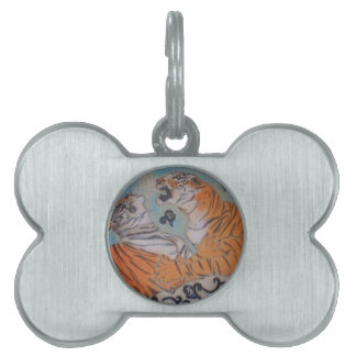 Passionate Tigers Pet Tag