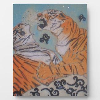 Passionate Tigers Photo Plaque