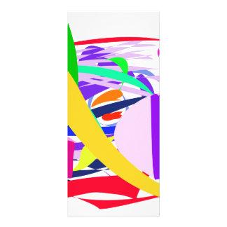 Passionate Time Custom Rack Card