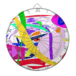 Passionate Time Dartboard With Darts