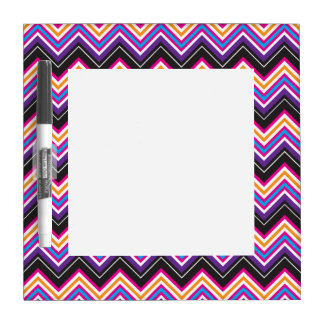 Passionately Purple & Pink Chevrons Dry Erase Whiteboards
