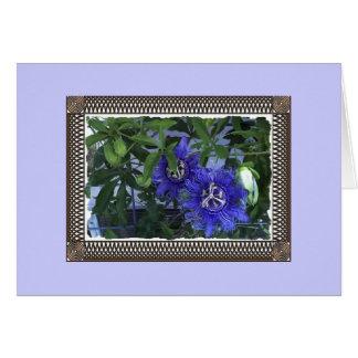 Passionflowers Tarjeta De Felicitación