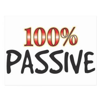 Passive 100 Percent Postcard
