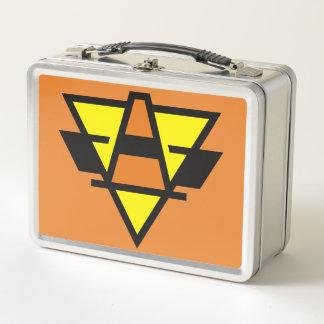 Passive Pylons Hockey Team Logo Metal Lunch Box