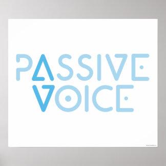 Passive Voice Poster