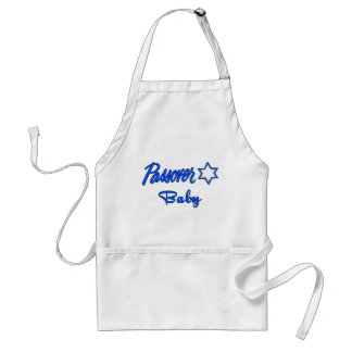 Passover Baby Blue Adult Apron