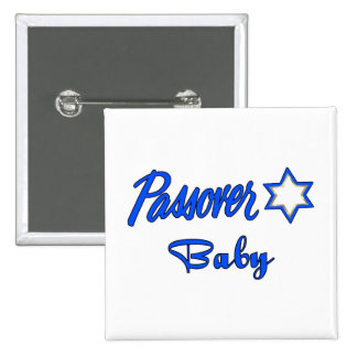 Passover Baby Blue Button