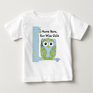 "Passover Baby Blue/Green Shirt ""The Wise Child"""