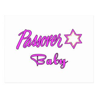 Passover Baby Girl Postcard