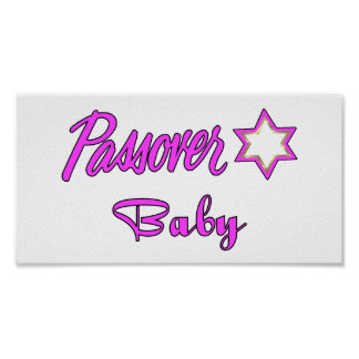 Passover Baby Girl Posters