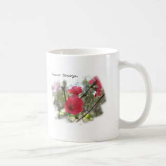 Passover Blessings Lovely Blossoms Classic White Coffee Mug