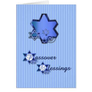 Passover Blue Star Cards