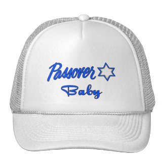 Passover Blue Trucker Hat
