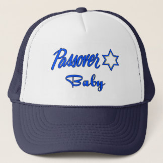 Passover Blue Trucker Hat