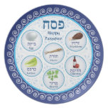 Passover Doily Seder Party Plates