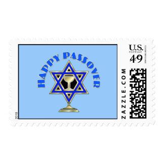 Passover feliz estampilla