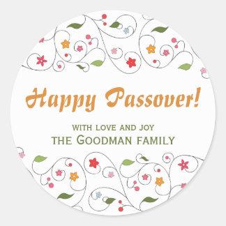 Passover feliz - etiqueta del GIF