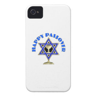 Passover feliz funda para iPhone 4 de Case-Mate