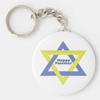 Passover feliz llavero personalizado