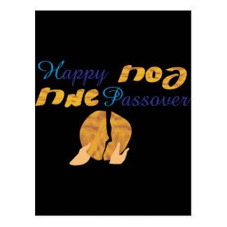 Passover feliz postal