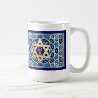 Passover feliz. Shalom en Pesach. Tazas del regalo