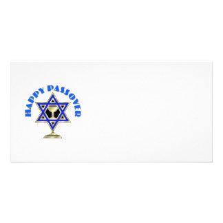 Passover feliz tarjetas personales
