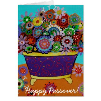 Passover feliz tarjeta de felicitación