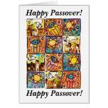 Passover feliz - tarjeta de la marfil de Israel de