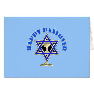 Passover feliz tarjeta pequeña