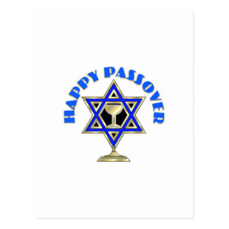 Passover feliz tarjeta postal