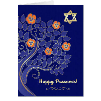 Passover feliz. Tarjetas adaptables de Creeting