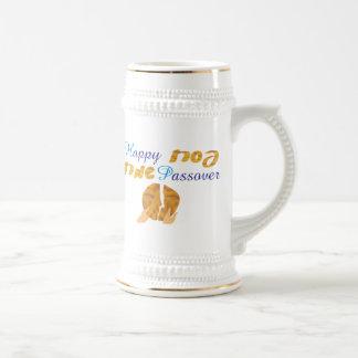 Passover feliz jarra de cerveza