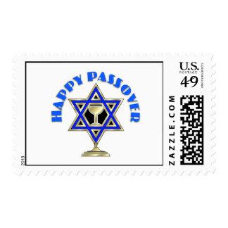 Passover feliz timbres postales