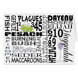 """Passover Greeting Card """"Dayenu and more..."""""""