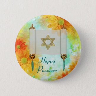 Passover Greetings Pinback Button