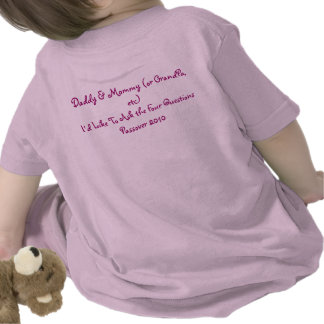 Passover Infant Shirt