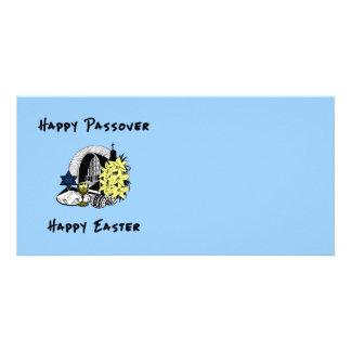 Passover interconfesional y Pascua Tarjeta Con Foto Personalizada