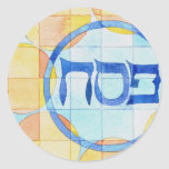 Passover Labels Classic Round Sticker