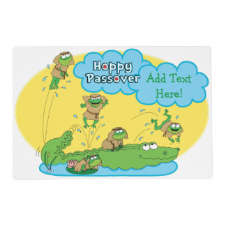 Passover Laminated Activity Placemat Kids-2 sided