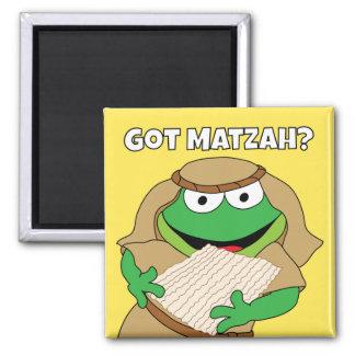 """Passover Magnet 2"""" square """"Got Matzah?"""""""
