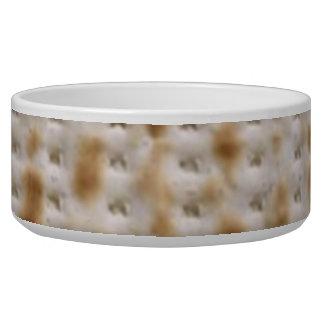 Passover Matzoh Dog Food Bowl