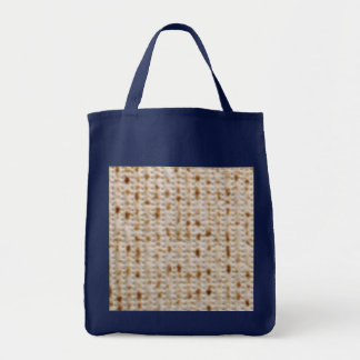 PASSOVER MATZOH SCHLEPPER GROCERY TOTE BAG