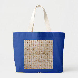PASSOVER MATZOH SCHLEPPER TOTE, jumbo royal Canvas Bag