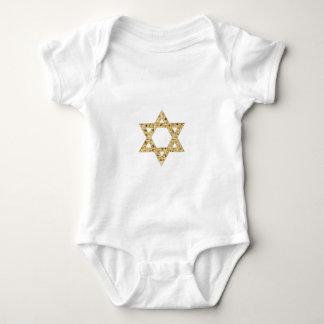 Passover Matzoh Star of David Baby Bodysuit