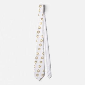 Passover Matzoh Star of David Neck Tie