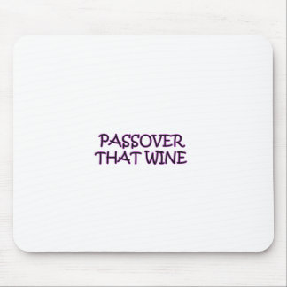 PASSOVER MOUSE PAD