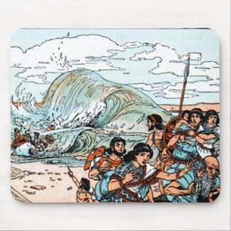 PASSOVER PESACH MOUSEPAD EXODUS THE RED SEA