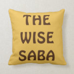 """PASSOVER PESACH PILLOW FOR GRANDPA """"THE WISE SABA"""""""